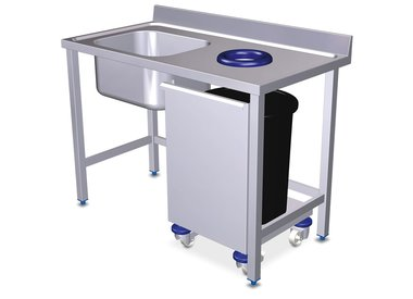 Prewash tables