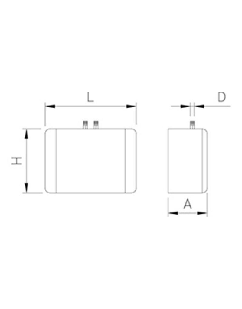 Doorstroom boiler