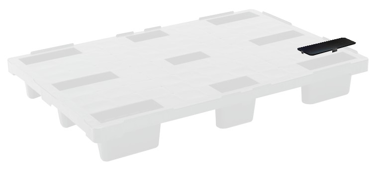 Cover for stackable euro pallet