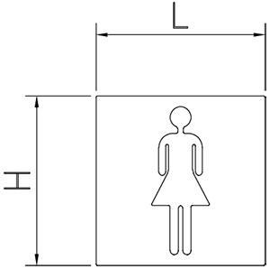 Douche pictogram
