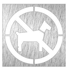 Geen honden pictogram