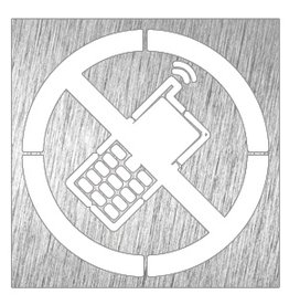 Geen gsm pictogram