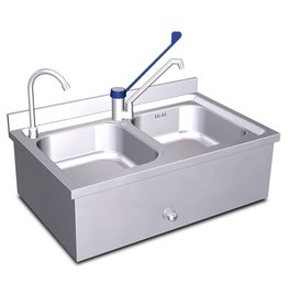 Hand wash sink and sink set