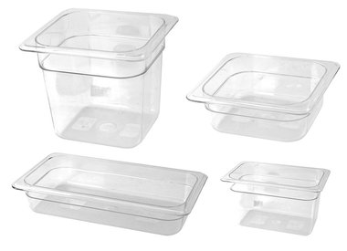 Gastronorm Containers made of polycarbonate