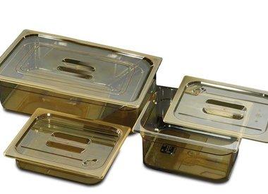 Gastronormbakken in polyethersulfon