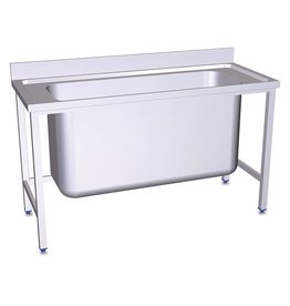 Sink with large capacity