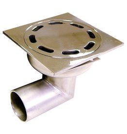 Drain Grate with corner tube