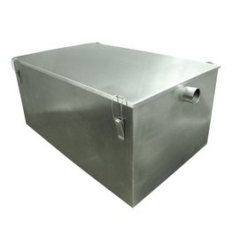 Grease trap in stainless steel