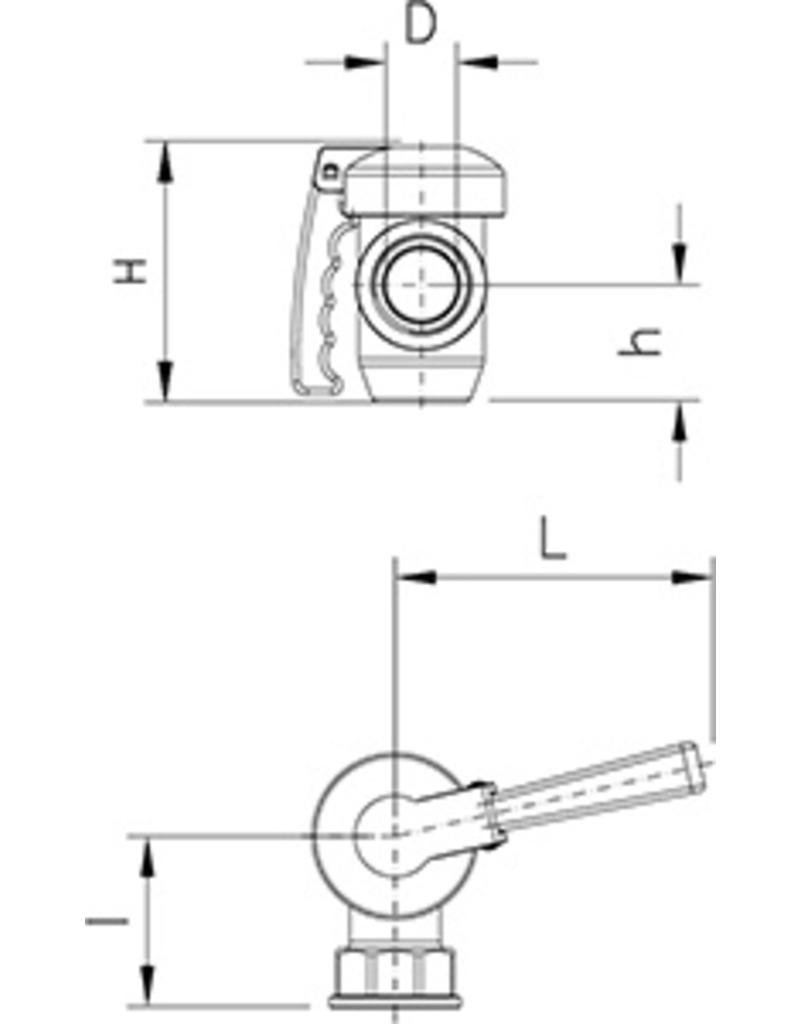 "1 3/4 ""drain valve"