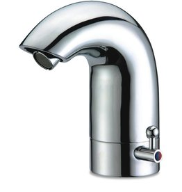 Sensor tap with double inlet