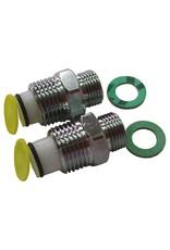 Anti-return valve set