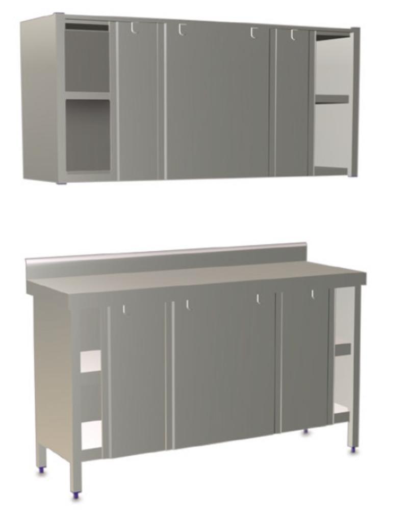 Cupboard with sliding doors