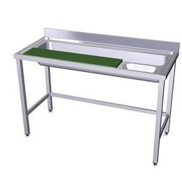 Vegetable preparation table