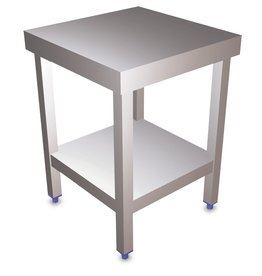 Small island table with shelf