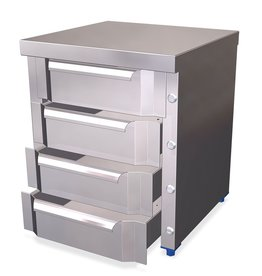 Modulaire box met 4 lades