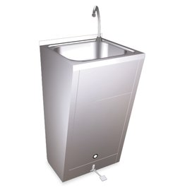 Standard hand basin - with one pedal