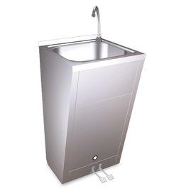 Standaard handwasbak - met twee pedalen