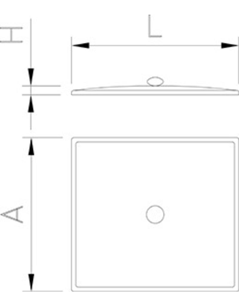Deksel inductie container