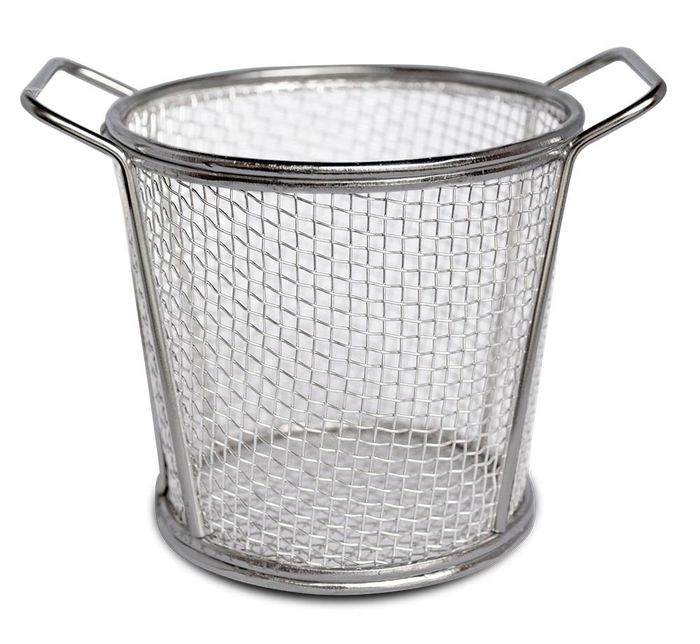 Round wire basket - INOX RVS FOR FOOD INDUSTRY