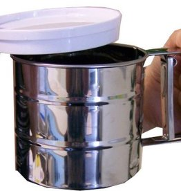 Sifter in stainless steel