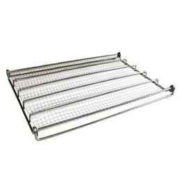 Wire mesh baguette tray