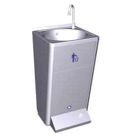 Mobile hand wash basin  pomp 220v.