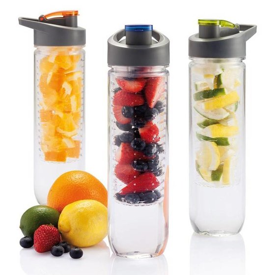 LOOOQS Waterfles met infuser 800 ml