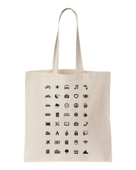 Icon Speak Icon Speak Canvas tas