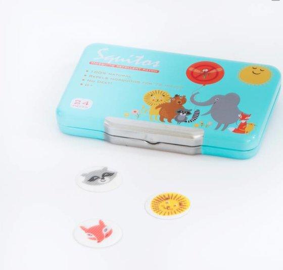 Squitos mugwerende stickers