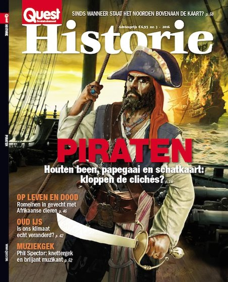 Quest Quest Historie 3 2016 - Piraten