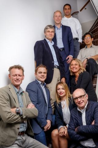 Een deel van het team van Oxigo