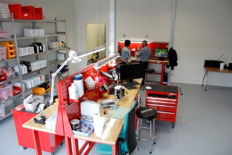 Het Inogen One service center