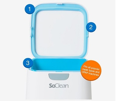 Three easy steps to start with SoClean