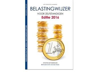 Handboek ZZP Belastingwijzer 2016