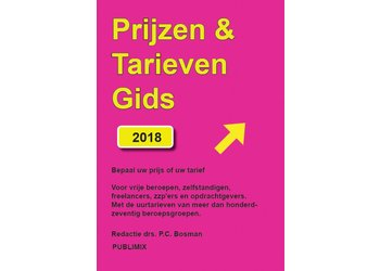 Publimix Uitgevers ZZP uurtarief - gids 2018
