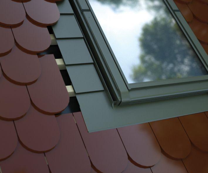 Intura - Gootstukken voor platte dakbedekking tot 16mm (LH)