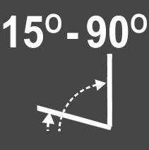 Intura - Tuimeldakraam hout ISO I3