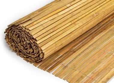 Gespleten bamboematten