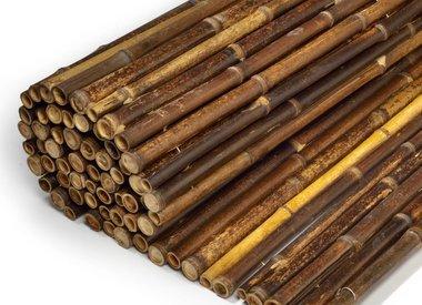 Schwarz Bambusmatten