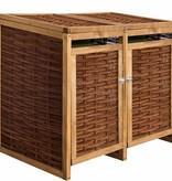 TuinChamp Container ombouw berging dubbel