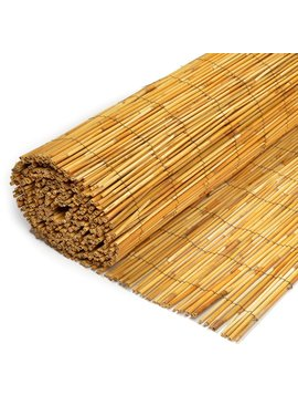 TuinChamp Reed fence peeled cane 6-8 mm 200 x 500 cm - Copy