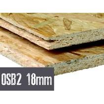OSB plaat 18 mm 122 x 244cm mes en groef OSB2