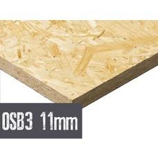 OSB plaat 11mm 122 x 244cm rechtkantig OSB 3