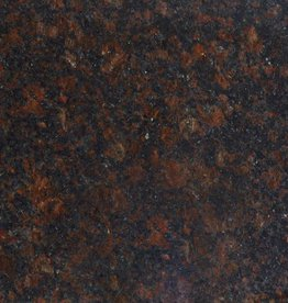 Tan Brown Granite Tiles Polished, Chamfer, Calibrated, 1st choice premium quality in 61x30,5x1 cm