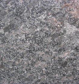 Steel Grey Graniet Tegels Gepolijst, Facet, Gekalibreerd, 1.Keuz Premium kwaliteit in 61x30,5x1 cm