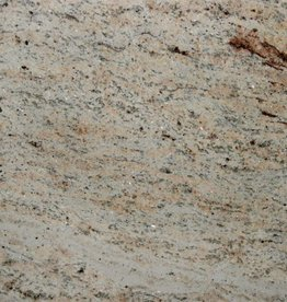 Shivakashi Ivory Brown Granite Tiles Polished, Chamfer, Calibrated, 1st choice premium quality in 61x30,5x1 cm