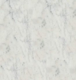 Carreaux de Marbre Bianco Carrara poli, chanfreinés, calibré, de première qualité 1. Choice dans 61x30,5x1 cm