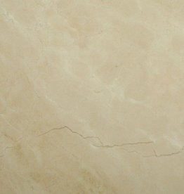 Crema Marfil Marmorfliesen Poliert, Gefast, Kalibriert, 1.Wahl Premium Qualität in 61x30,5x1 cm