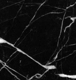 Carreaux de Marbre Nero Marquina polished, chanfreinés, calibré, 1.Choice de première qualité dans 61x30,5x1 cm