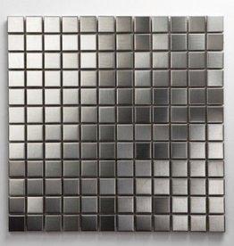 Acier inoxydable Metal Mosaïque Carrelage 1. Choice dans 30x30x1 cm